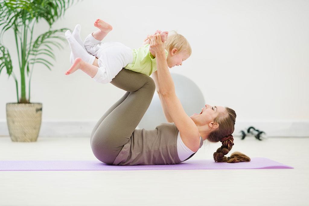 Bài tập thể dục sau khi sinh