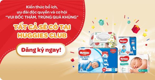 Khuyến mãi tã bỉm trẻ em Huggies - HUGGIES® Việt Nam